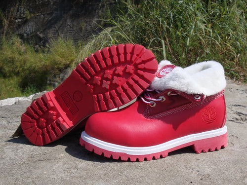 Timberland Boots for Men Red & White - kaubi-online
