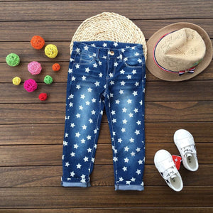 2018 Baby girl jeans full of stars - KAUBI TRENDING EMPIRE