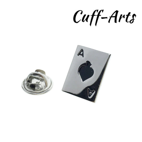 Brooches Ace Cards Lapel Pin For Men - KAUBI TRENDING EMPIRE