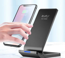 Load image into Gallery viewer, Fast Charging Wireless Charger For iPhone and Samsung - KAUBI TRENDING EMPIRE