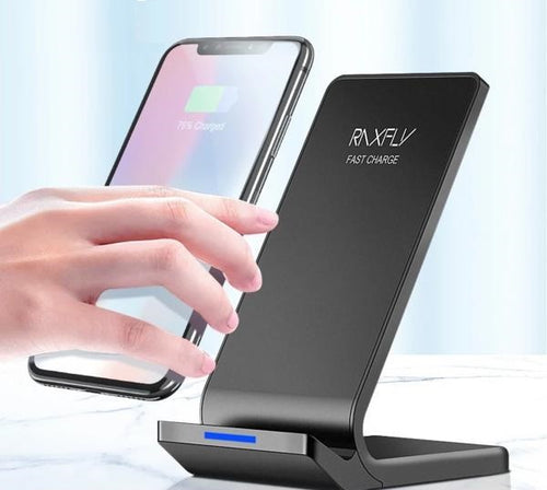 Fast Charging Wireless Charger For iPhone and Samsung - kaubi-online