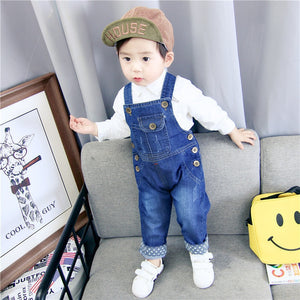 Denim Overalls Baby Jeans Clothing Toddler 1-3 Years - KAUBI TRENDING EMPIRE
