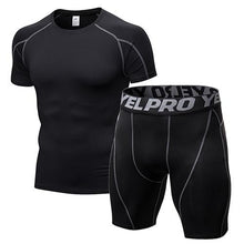 Load image into Gallery viewer, Gym Tight Men Jogging Suits Sports Sets - KAUBI TRENDING EMPIRE