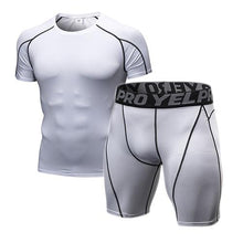 Load image into Gallery viewer, Gym Tight Men Jogging Suits Sports Sets - kaubi-online