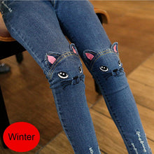 Load image into Gallery viewer, Cute Cartoon Pattern Kids Jeans - KAUBI TRENDING EMPIRE
