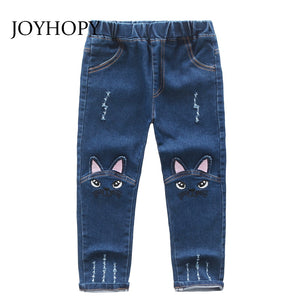 Cute Cartoon Pattern Kids Jeans - kaubi-online