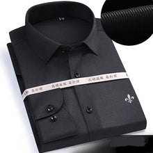 Load image into Gallery viewer, 2019 Long Sleeved Solid shirt Slim Fit Male Business Shirt - KAUBI TRENDING EMPIRE