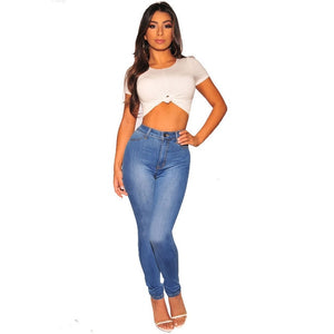 Women Denim Blue Jeans - KAUBI TRENDING EMPIRE