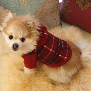 Pet Clothes Hoodie Warm Fleece Puppy Coat - KAUBI TRENDING EMPIRE