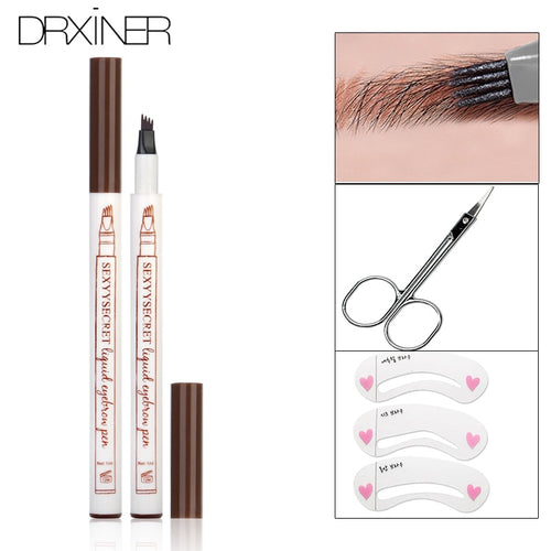 Waterprroof  Liquid  Eyebrow  Microblading Pencil - KAUBI TRENDING EMPIRE