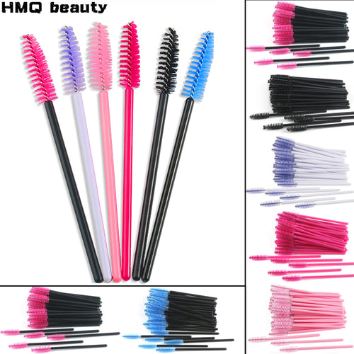 Eyelash Disposable brush Mascara Wands  Brushes Set makeup tools - KAUBI TRENDING EMPIRE