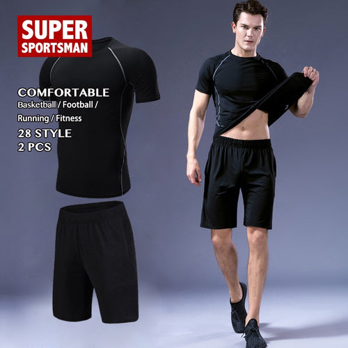 Fitness Gym Clothing Men Training Jogging Suits - KAUBI TRENDING EMPIRE