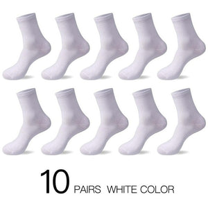 2019 Men's Cotton Socks 10 Pairs - KAUBI TRENDING EMPIRE