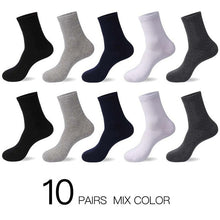 Load image into Gallery viewer, 2019 Men's Cotton Socks 10 Pairs - KAUBI TRENDING EMPIRE