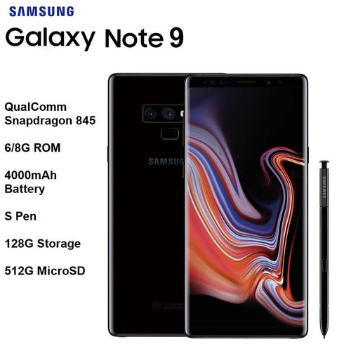 "Samsung Galaxy Note 9 6.4"" Quad HD - KAUBI TRENDING EMPIRE"