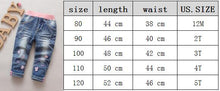 Load image into Gallery viewer, Girls Jeans For Girl Spring Baby Jeans Minnie Girl Kids Pants Boutique 2019 - KAUBI TRENDING EMPIRE