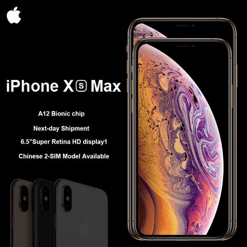 IPhone XS Max 64GB 4G LTE Face Id All Screen 6.5