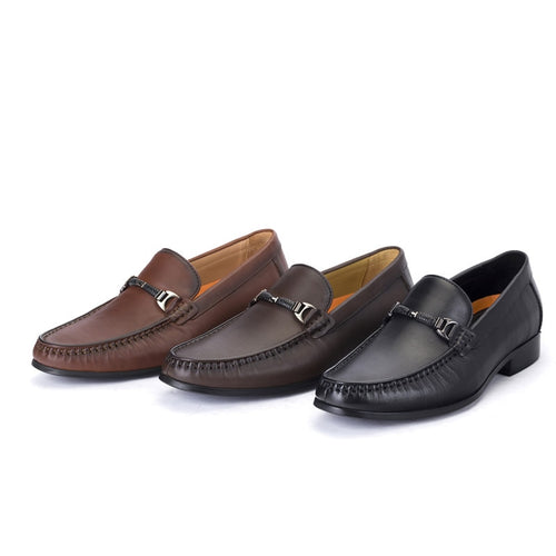 Italian Slip On Oxford Shoes For Men - KAUBI TRENDING EMPIRE