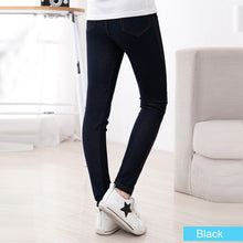 Load image into Gallery viewer, Girls Jeggings Pencil knit Imitation Jeans - KAUBI TRENDING EMPIRE