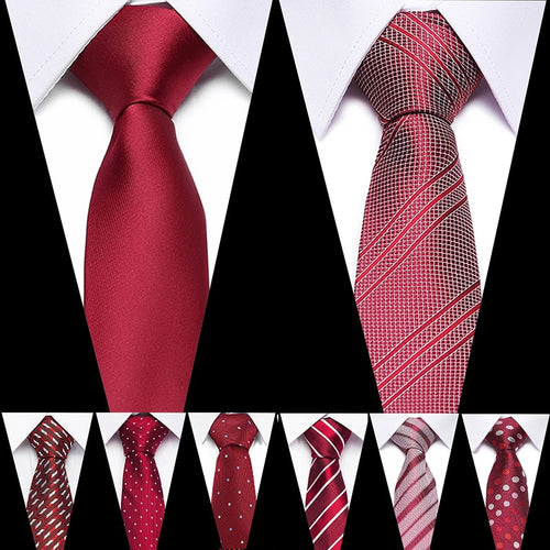 Slim Neckties Polyester Jacquard Ties - KAUBI TRENDING EMPIRE