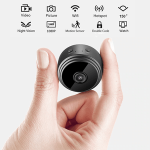 1080p Mini Wifi Night Vision Camera - KAUBI TRENDING EMPIRE