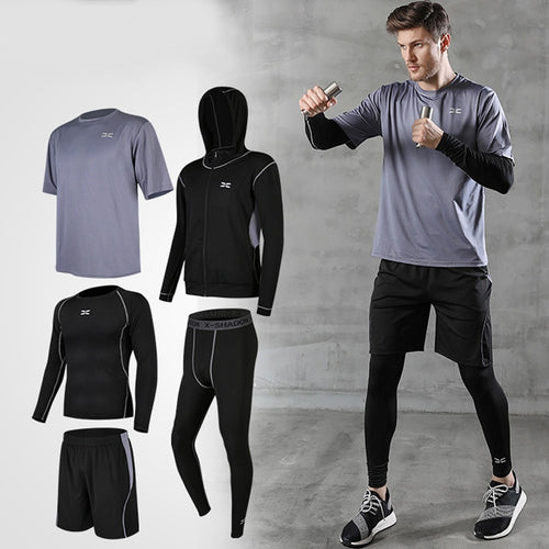 Men Tracksuit Gym Wear Workout Clothes - KAUBI TRENDING EMPIRE