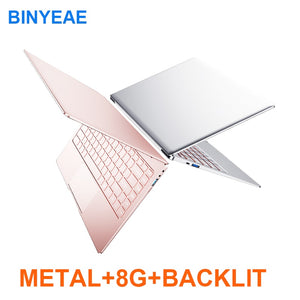 Metal Body 13.3/14 inch With Backlit Keyboard Gaming Laptop 8G RAM 1TB 512G 256G 128G M.2 SSD Notebook Computer IPS FHD Netbook - KAUBI TRENDING EMPIRE