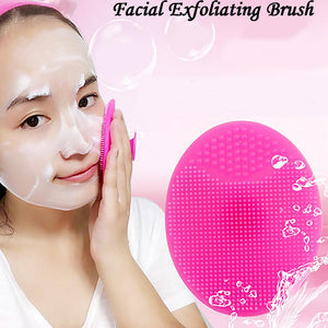 Facial Exfoliating Blackhead Face Cleansing Brush - KAUBI TRENDING EMPIRE