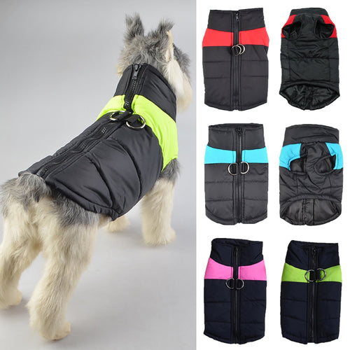 Dog Clothes Winter Autumn Waterproof Puppy Vest For Dog - KAUBI TRENDING EMPIRE
