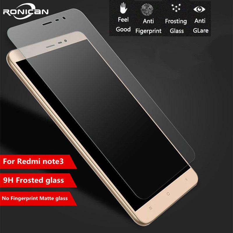9H Frosted Tempered Glass For XiaoMi RedMi Note 3 pro Note3 5.5