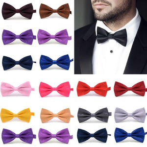 1PC Gentleman Men Classic Satin Bowtie - KAUBI TRENDING EMPIRE