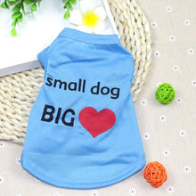 Load image into Gallery viewer, Dogs Shirt Pet Cat Tshirt for Small Dog Chihuahua - KAUBI TRENDING EMPIRE