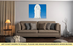Gallery Wrapped Canvas, The Statue Of Buddha In Linh Ung Pagoda Da Nang Vietnam - KAUBI TRENDING EMPIRE