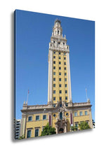 Load image into Gallery viewer, Gallery Wrapped Canvas, Freedom Tower In Miami Florida - KAUBI TRENDING EMPIRE