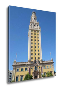 Gallery Wrapped Canvas, Freedom Tower In Miami Florida - KAUBI TRENDING EMPIRE