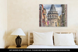 Gallery Wrapped Canvas, Istanbul Galata Tower - KAUBI TRENDING EMPIRE