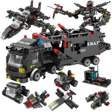 Load image into Gallery viewer, 715pcs City Police Station Building Blocks Compatible Lego Truck Blocks Educational Toy For Boys - KAUBI TRENDING EMPIRE