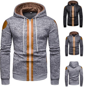 Men's Fall And Winter New Fashion Hooded Sweater  Coat - KAUBI TRENDING EMPIRE