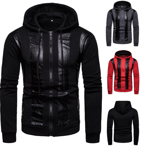 Autumn and winter new casual hooded sweater  jacket - KAUBI TRENDING EMPIRE