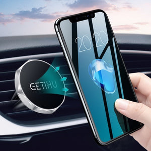 GETIHU Car Phone Holder Magnetic Air Vent Mount Mobile Smartphone Stand Magnet Support Cell in Car GPS For iPhone XS Max Samsung - KAUBI TRENDING EMPIRE