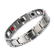 Load image into Gallery viewer, Bangles Energy Balance Copper Chain Link Germanium Magnetic Bracelets For Men - KAUBI TRENDING EMPIRE