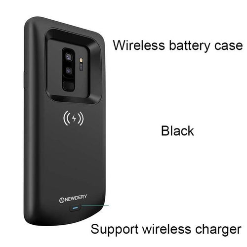 S9 and S9+ Battery Case Qi Wireless Charging Compatible, 4700mAh Slim Rechargeable Extended Charger Case - KAUBI TRENDING EMPIRE