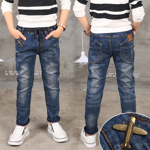 Boy Jeans Limited Loose Solid Casual Jeans - KAUBI TRENDING EMPIRE