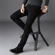 Load image into Gallery viewer, Black Stretch Denim Jeans for Man - KAUBI TRENDING EMPIRE
