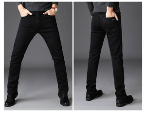 Black Stretch Denim Jeans for Man - KAUBI TRENDING EMPIRE