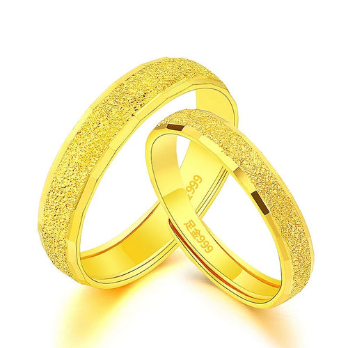 24K Pure Solid Gold Rings - KAUBI TRENDING EMPIRE
