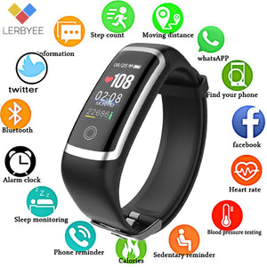 Fitness Waterproof Tracker Smart Bracelet Watch for iOS and Android - KAUBI TRENDING EMPIRE