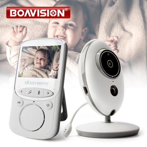 Wireless LCD Audio Video Baby Monitor VB605 Radio Nanny Music Intercom IR 24h Portable Baby Camera Baby Walkie Talkie Babysitter - KAUBI TRENDING EMPIRE
