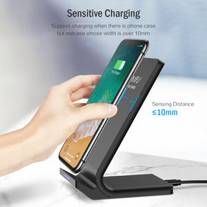 Fast Charging Wireless Charger For iPhone and Samsung - KAUBI TRENDING EMPIRE