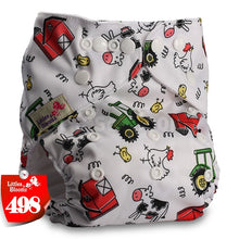 Load image into Gallery viewer, Littles&Bloomz Baby Washable Reusable Real Cloth Pocket Nappy Diaper - KAUBI TRENDING EMPIRE